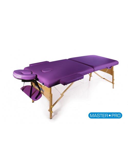 Mesas de masaje - Camilla De Masaje MasterPro Classic Purple
