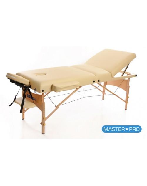 Mesas de masaje - Camilla De Masaje MasterPro Deluxe 3 Beige